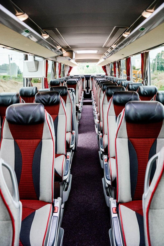 Innenansicht Setra Busplan
